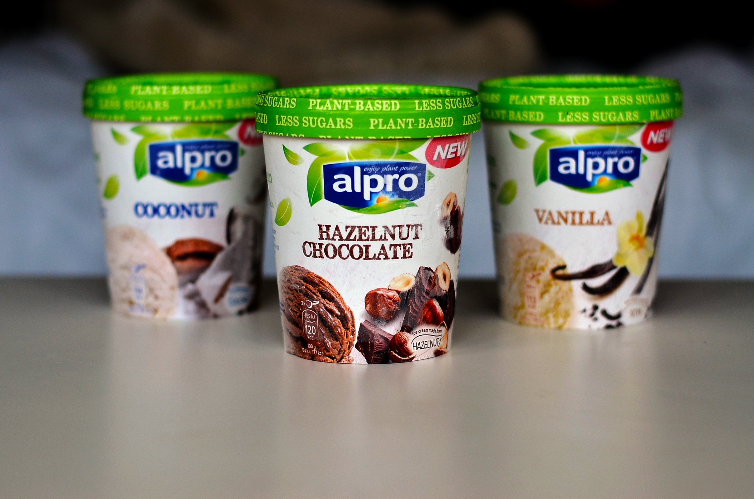 Alpro Dairy Free Icecream Review The Hungry Herbivores